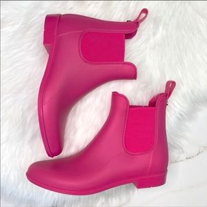 Sam Edelman Pink Chelsea Rain Boots